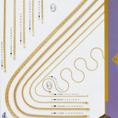 Part of the 24 page Anmol chains Catalogue