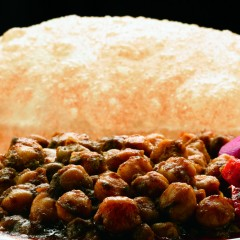 Channa Bhatura for Cream Centre