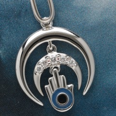 Small pendant enlarged for Hammer Plus Jewellery, Mumbai