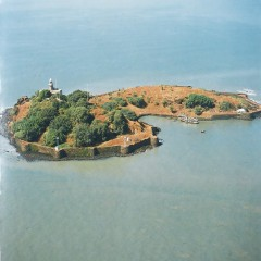 Khanderi Fort, Mumbai for Indian Navy Heritage book