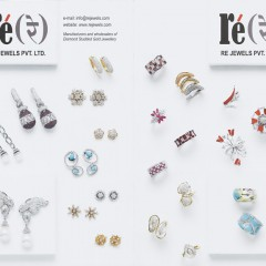 Re Jewels leaflet, Mumbai, designed by Credence