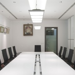 Conference room at Jollyboard office, Mumbai