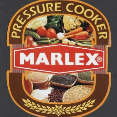 Marlex Pressure cooker label