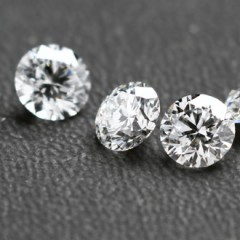 Diamonds for brochure of D Navinchandra, Mumbai