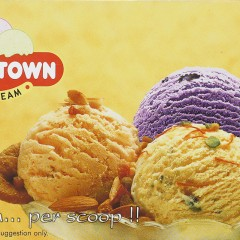 Real Icecream for Top-n-Town, Deeaar Graphics, Gujarat. (This is a photograph of the packaging
