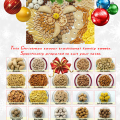 Christmas Poster for Vaibhav foods
